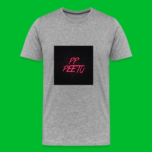 Ppppeetu logo - Miesten premium t-paita