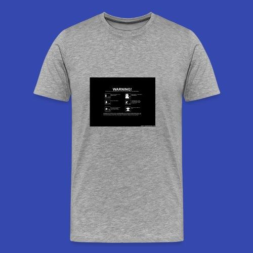 Warning - Men's Premium T-Shirt