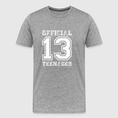 Offisiell Teens 13th bursdagsgave - Premium T-skjorte for menn