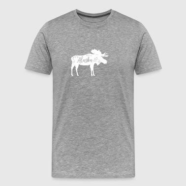 Państwo Alaski - Koszulka męska Premium