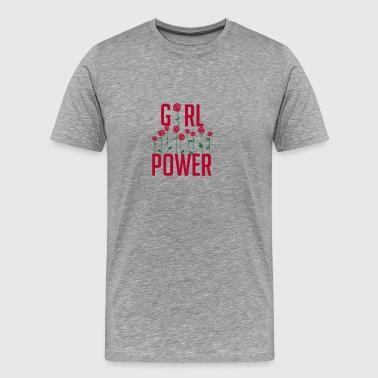 Girl Power - gift for girls and women - Men's Premium T-Shirt
