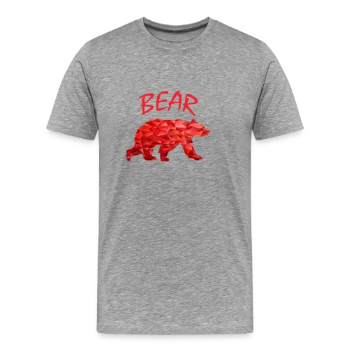 Red Bear - Männer Premium T-Shirt