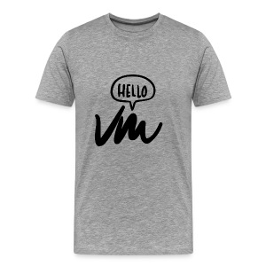 VM Hello! - Men's Premium T-Shirt