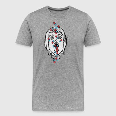 Süchtig - Männer Premium T-Shirt