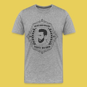No Beard No Pain - T-shirt Premium Homme