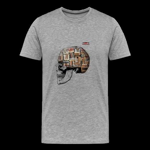 GSF MIND FULL OF BOOKS DESIGN - Männer Premium T-Shirt
