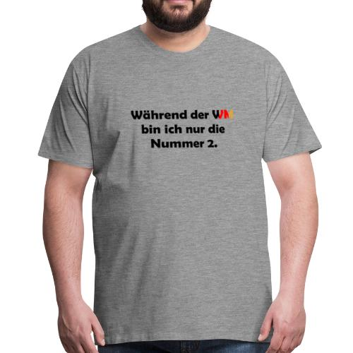 Weltmeisterschaft Fußball Deutschland Geschenk - Männer Premium T-Shirt