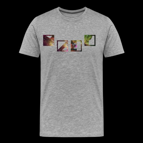Galaxy Bunt - Männer Premium T-Shirt