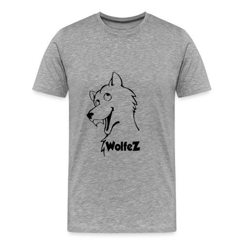 WolfeZ Klær - Premium T-skjorte for menn