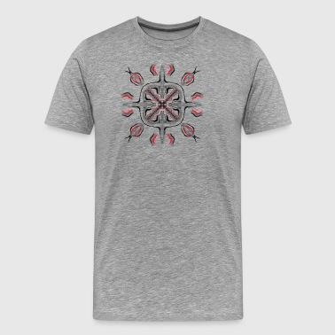 abstrakt - Premium T-skjorte for menn