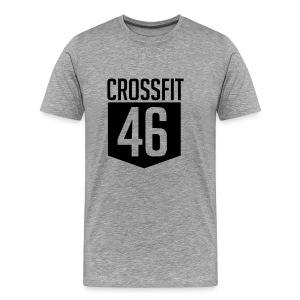 CROSSFIT46 big logo - Premium T-skjorte for menn