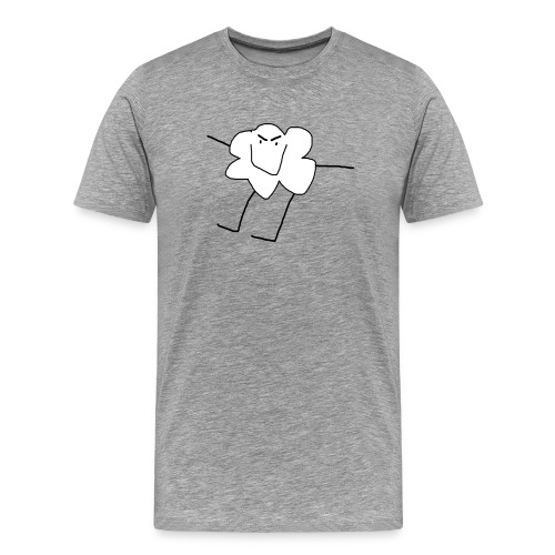 Angry Cloud - Männer Premium T-Shirt