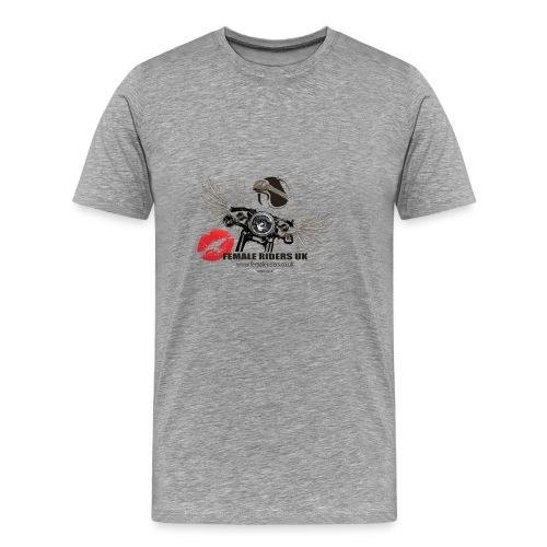 Female Riders Logo 2 lips - Men's Premium T-Shirt