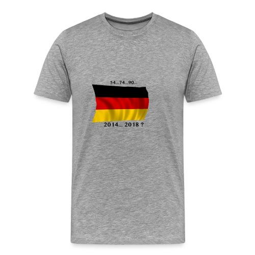 Deutschland Fussball WM Geschenkidee - Männer Premium T-Shirt