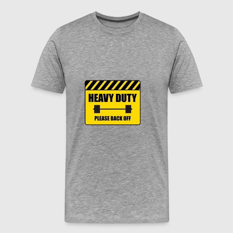 Attention, heavy - Men's Premium T-Shirt