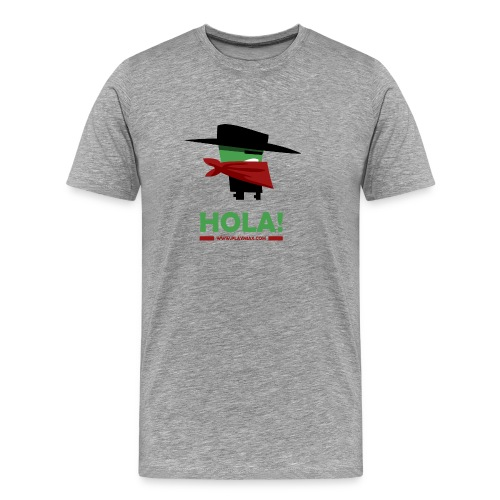 Greengo Hola - Mannen Premium T-shirt