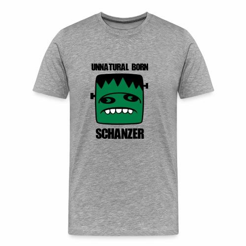 Fonster unnatural born Schanzer - Männer Premium T-Shirt