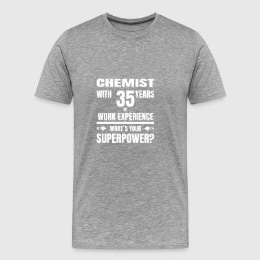 APTEKI 35 lat doświadczenia zawodowego - Koszulka męska Premium