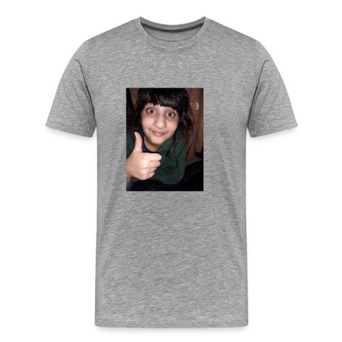 My sis face :-) - Men's Premium T-Shirt