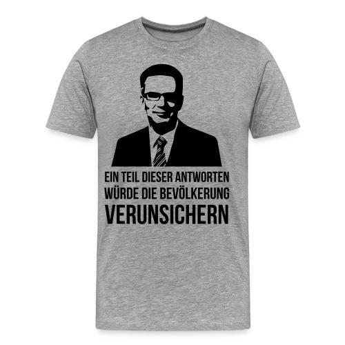Verunsicherung - Männer Premium T-Shirt