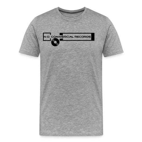 NoCommercialNewLogo - Männer Premium T-Shirt