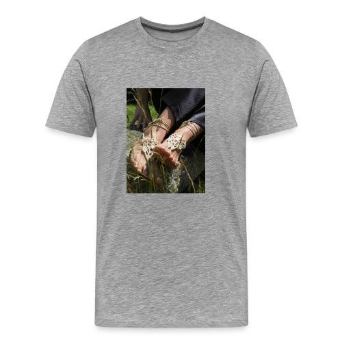 Barfußsandalen - Männer Premium T-Shirt