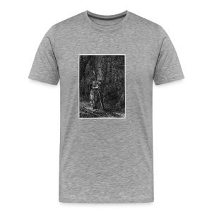 Lonely Warrior - Männer Premium T-Shirt