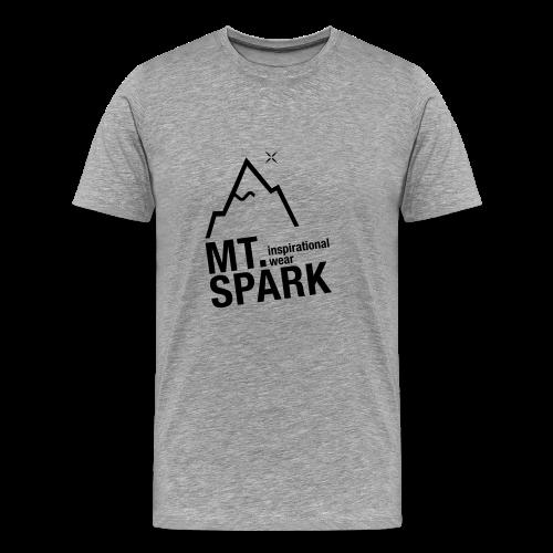 mt. spark logo - Männer Premium T-Shirt
