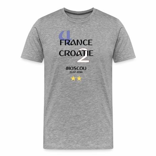 Finale coupe du monde 2018 - Francais - T-shirt Premium Homme