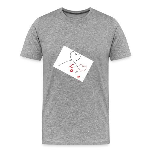love - Maglietta Premium da uomo