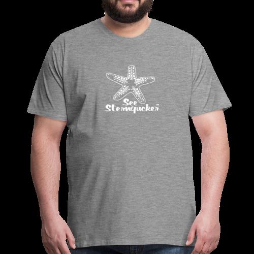Seesterngucker - Männer Premium T-Shirt
