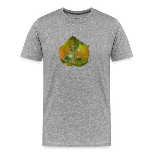 Autumn Leave Green - Männer Premium T-Shirt