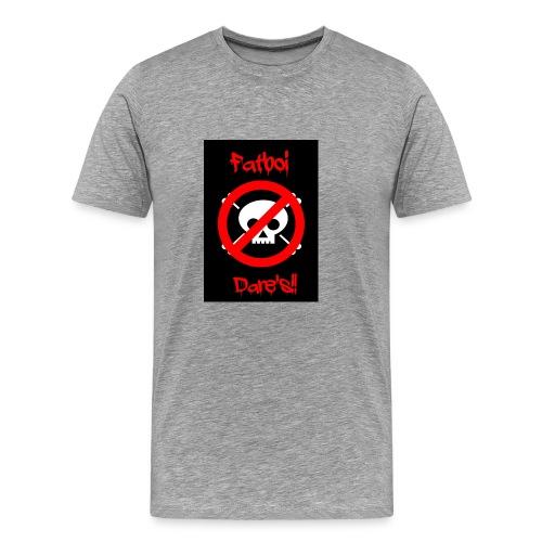 Fatboi Dares's logo - Men's Premium T-Shirt