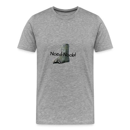 Noed-Noob! Schwarz - Männer Premium T-Shirt