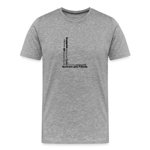 Life from Lortomgo - Männer Premium T-Shirt