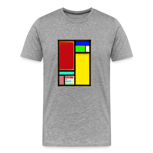 Felicidad - Camiseta premium hombre