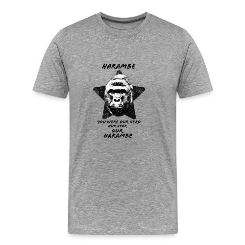Harambe - Herre premium T-shirt