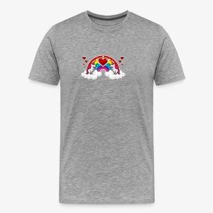 Rainbow and Unicorn - T-shirt Premium Homme