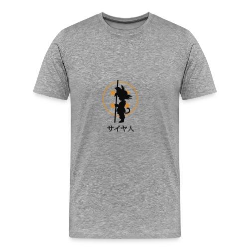 Dragon ball goku pequeño - Camiseta premium hombre