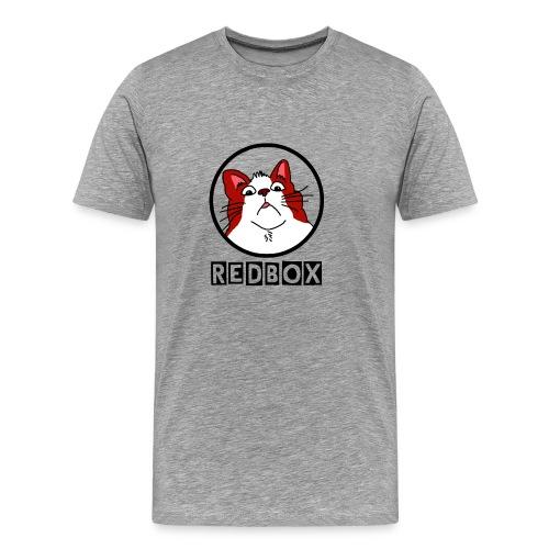 Maglietta Rossa con logo di redbox - Maglietta Premium da uomo