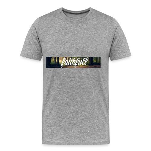 faithfullt-shirt trees - Mannen Premium T-shirt