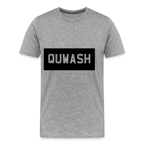 QUWASH - Mannen Premium T-shirt