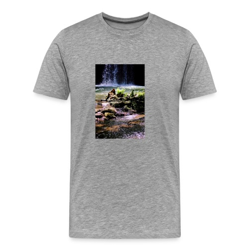 Cascade du grand Baou - T-shirt Premium Homme