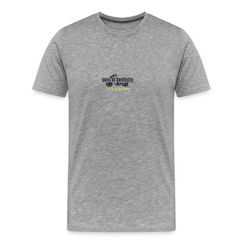 SOD logo schwarz - Männer Premium T-Shirt