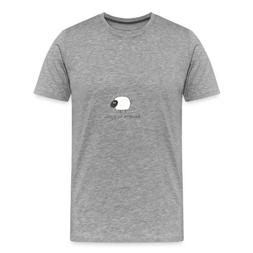 logo_wor_-3- - Mannen Premium T-shirt