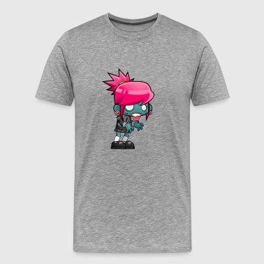 Zombina - Miesten premium t-paita
