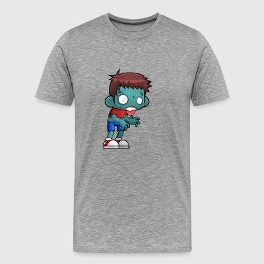 Teen zombie - Premium T-skjorte for menn
