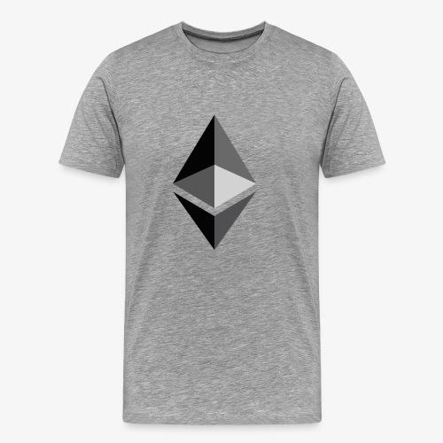 HODL-ethbig-b - Men's Premium T-Shirt