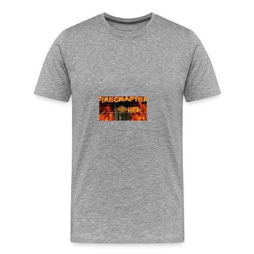 Firecrafterxhd merch - Männer Premium T-Shirt