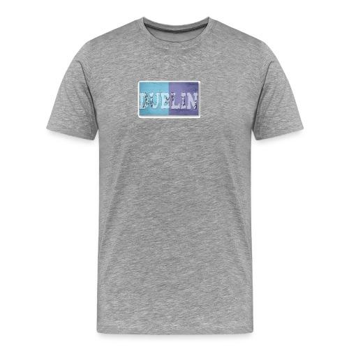 Dublin Distressed Flag T-Shirt - Men's Premium T-Shirt